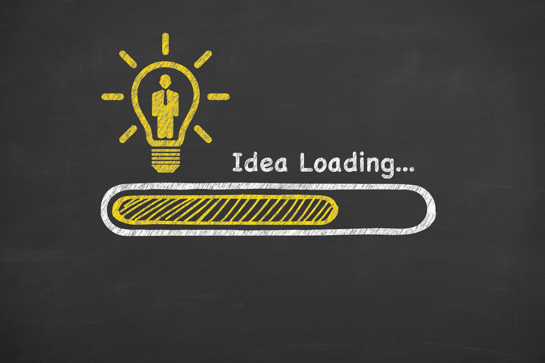 Human Resource Idea Loading on Blackboard